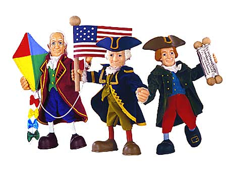 Founding fathers TOYS!