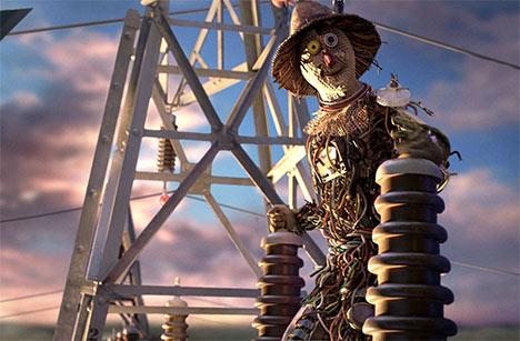 GE Smart Grid Scarecrow