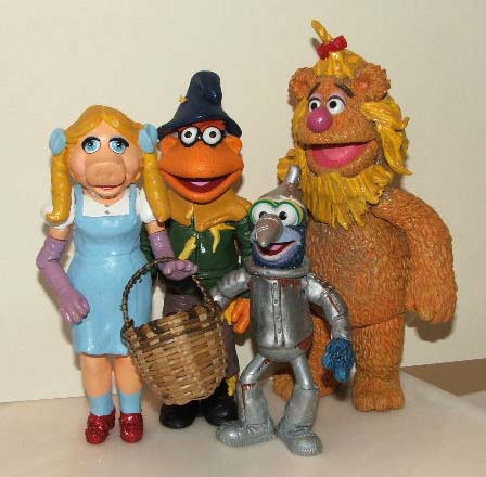 Muppets Wizard of Oz Toys