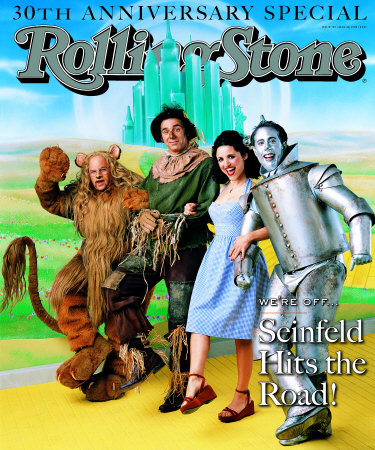 Seinfeld Rolling Stone's Cover